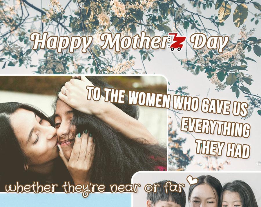 Happy Mother's Day from Zum Zum!