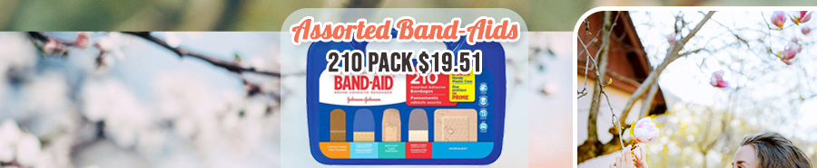 Band-Aids - 210 pack $19.51