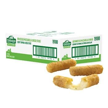 Cavendish Farms Tempura Battered Mozzarella Sticks Frozen Appetizers And Snacks Frozen Foods Free Same Day Delivery Service In Toronto Gta For Groceries Purchased At Costco